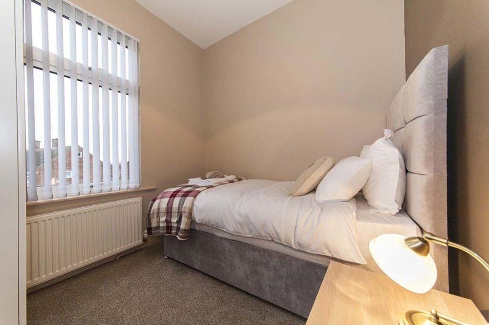 Sargent & Garvey - Illume House - Single bedroom 2